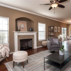 Staged Family Room | Arkansas