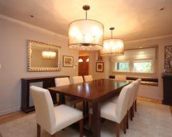 Dining Room Staged | Miriam Sadow
